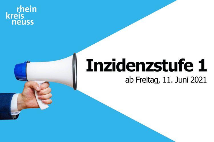 Ab Freitag Inzidenzstufe 1 im Rhein-Kreis Neuss