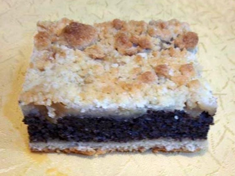 Beispielbild für Mohnquarkkuchen mir Birne