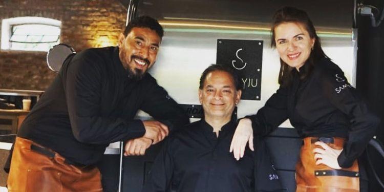 Das Team von SAMYJU Coffee
