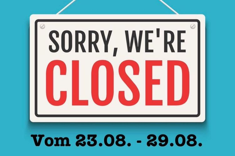 SORRY, WE´RE CLOSED