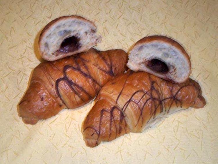 Beispielbild für Schoko-Buttercroissannts