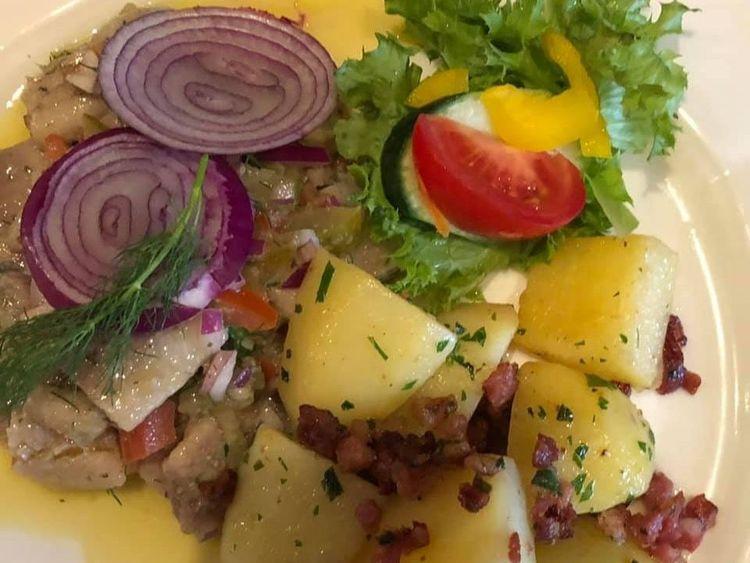Beispielbild für Matjessalat