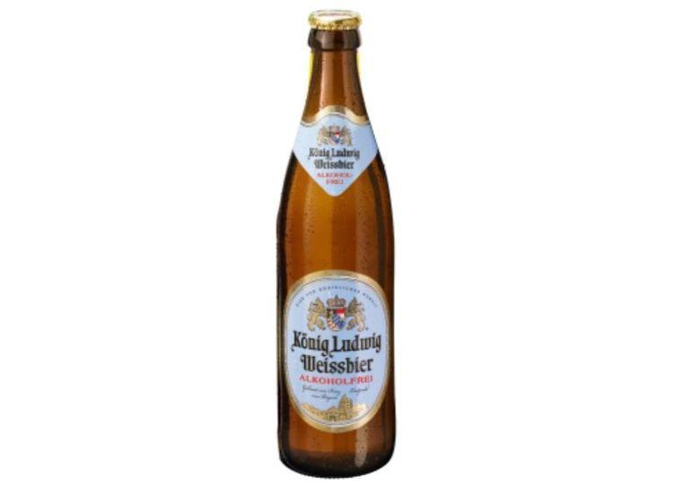 Beispielbild für König Ludwig Weissbier Alkoholfrei <0,5%