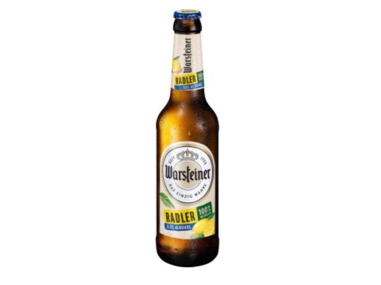 Beispielbild für Warsteiner Radler Alkoholfrei 0,0%
