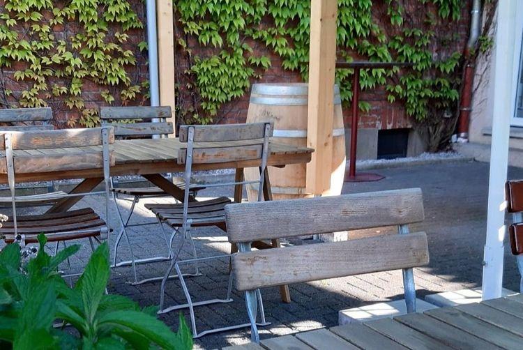Terrassen-Eröffnung