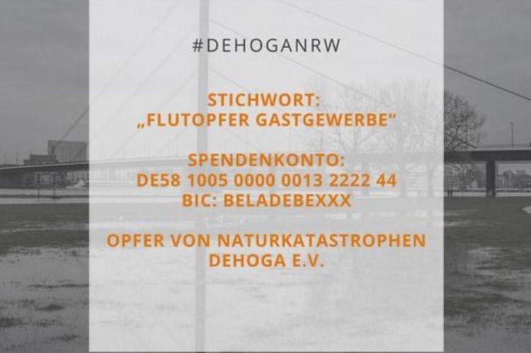 DEHOGA richtet Spendenkonto für betroffene Betriebe ein!