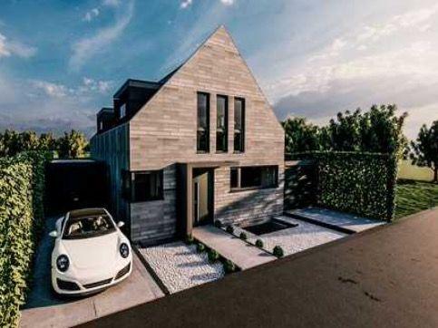 Beispielbild für Exklusives Einfamilienhaus in Düsseldorf-Vennhausen mit Doppelgarage, Galerie & Keller!