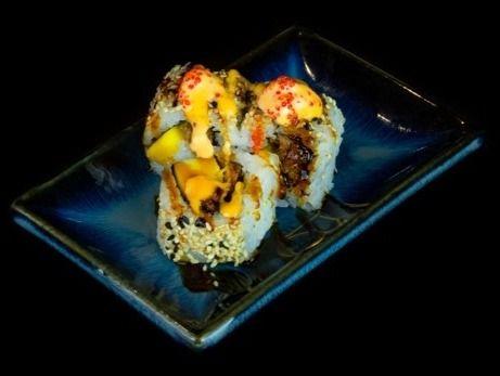 Beispielbild für 54. Spicy Duck Mango Roll
