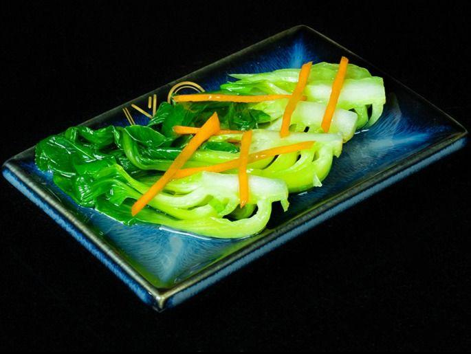Beispielbild für 83. Grilled Pakchoi Ginger Teriyaki