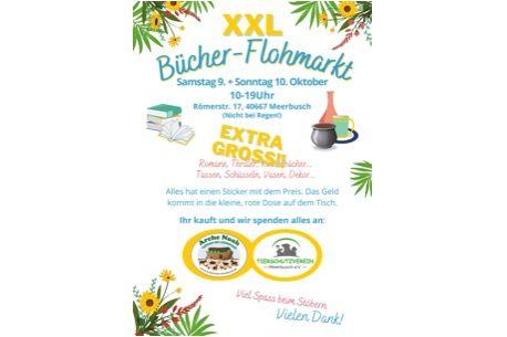 Bücher-Flohmarkt 9. + 10. Oktober