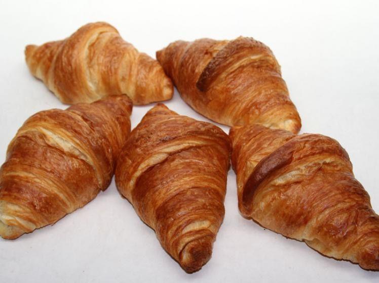 Beispielbild für Buttercroissants