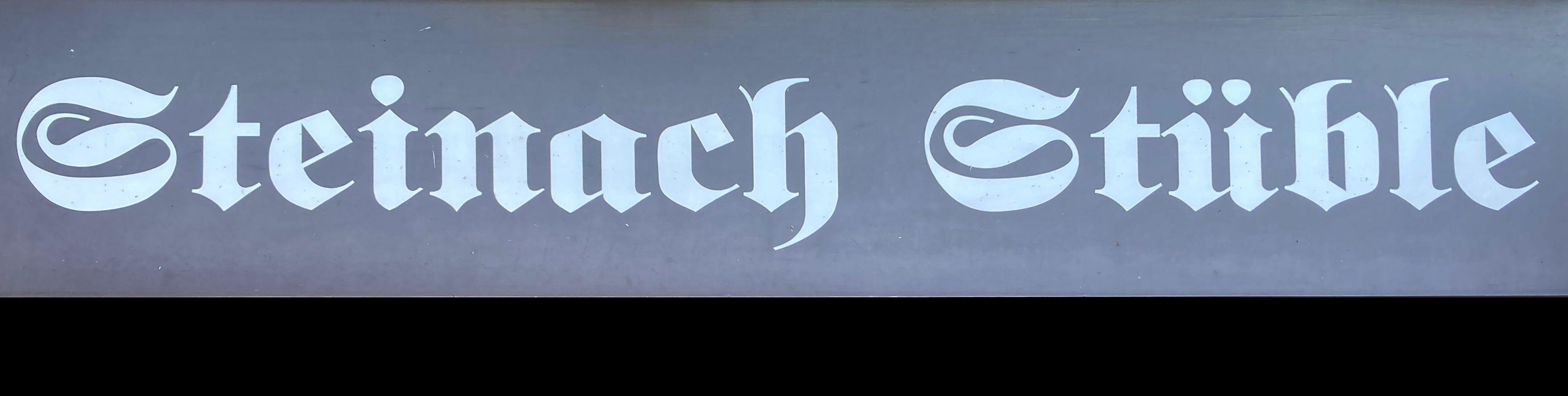 Titelbild von Steinach Stüble