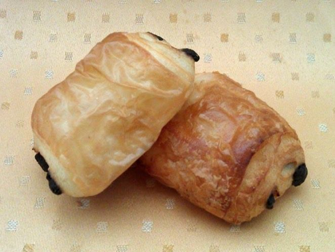 Beispielbild für Mini Schoko-Buttercroissants