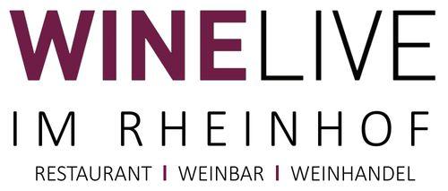 Logo von WINELIVE im Rheinhof