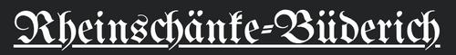 Logo von Rheinschänke